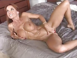 skinny brunette hair mother i with big boobs gets