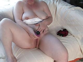 mom-next-door masturbate alone
