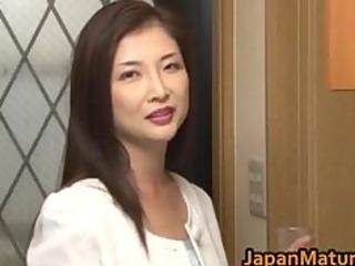 chisa kirishima aged asian lady shows part3