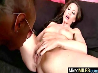 breasty milf love to fuck hard black pounder